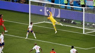 Belgium defeat England 1-0 as stars watch from bench