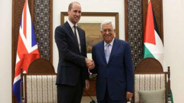 Στα Παλαιστινιακά Εδάφη ο πρίγκιπας Ουίλιαμ
