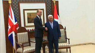 Prinz William trifft Palästinenserpräsident Abbas in Ramallah