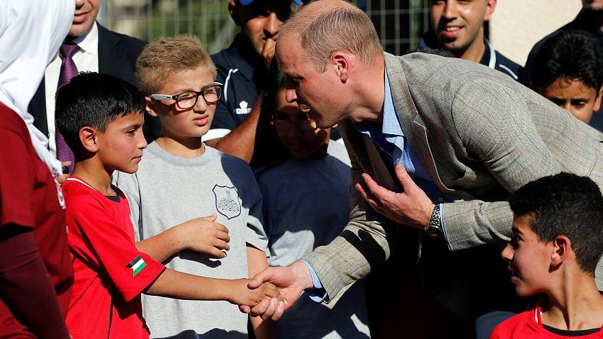 """Príncipe Guillermo: """"el pueblo palestino no ha sido olvidado"""""""