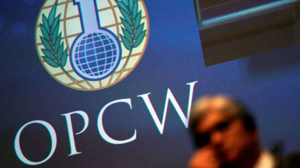 The OPCW is the chemical weapons watchdog