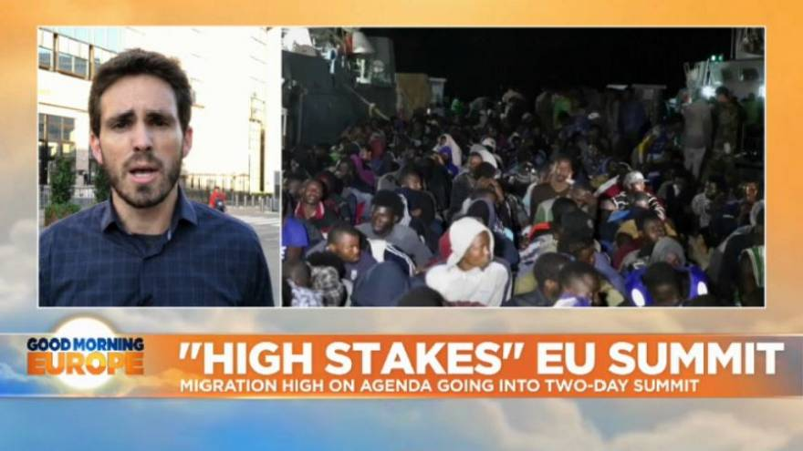 Watch: EU Summit - Can EU leaders find a solution on the topic of migration before it's too late?