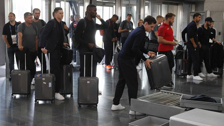 المنتخب الألماني يغادر موسكو