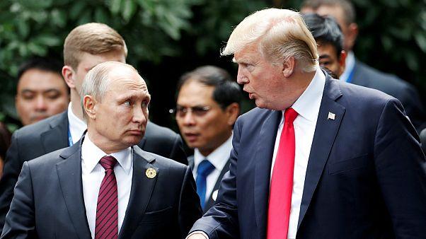 دیدار روسای جمهور آمریکا و روسیه در فنلاند