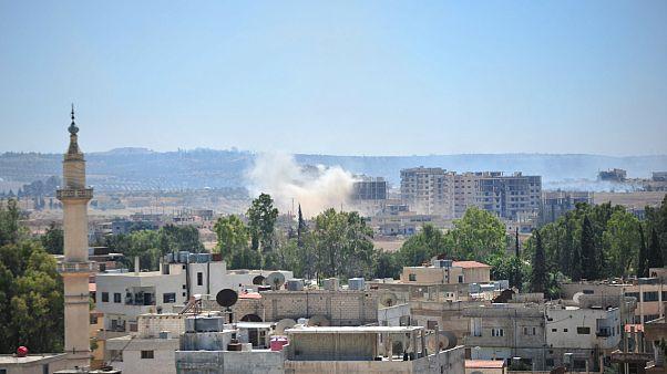 مرگبارترین روز حملات در جنوب سوریه؛ دستکم ۴۶ نفر کشته شدند
