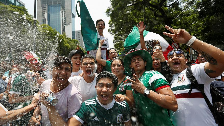 Watch: Mexican joy, German despair at the World Cup