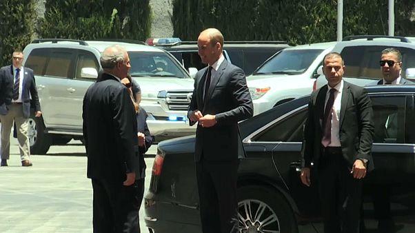 Palestina: William incontra Abbas nella visita in Cisgiordania