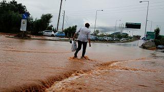 Starker Regen stürzt Teile Griechenlands ins Chaos