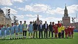 Футбол на Красной площади