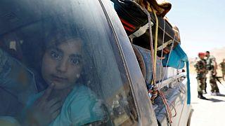بازگشت پناهجویان سوری از لبنان به سوریه آغاز شد