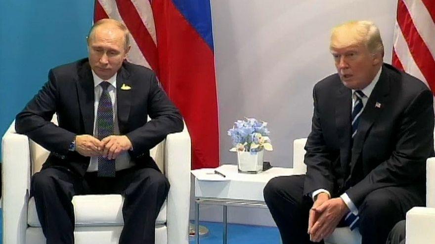 Trump e Putin reúnem-se em Helsínquia a 16 de julho