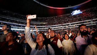 Candidatos à presidência do México despedem-se da campanha
