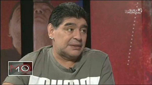 Maradona elfütyülte, hogy jól van