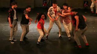 La energía de la danza urbana