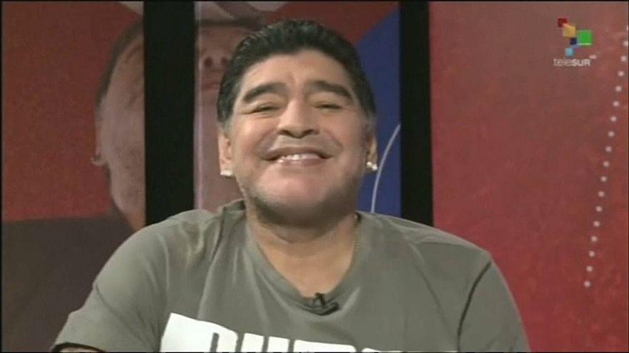 Maradona diz que está perfeito e que nunca esteve melhor