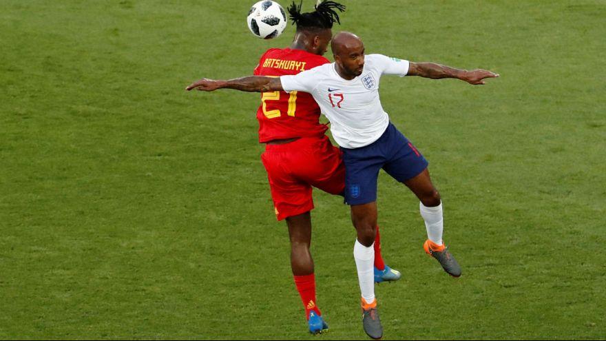 دیدار تیمهای فوتبال بلژیک و انگلیس