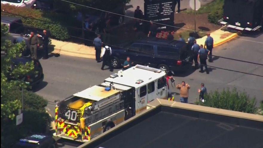 مقتل 5 أشخاص في إطلاق نار بمكتب صحيفة في ميرلاند