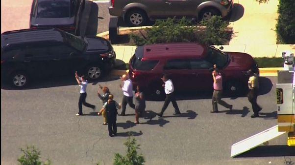 EEUU: Tiroteo mortal en las oficinas del periódico Capital Gazette en Annapolis