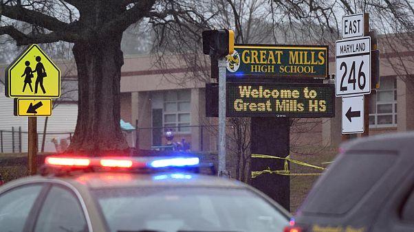 Several dead in US newspaper shooting, gunman detained