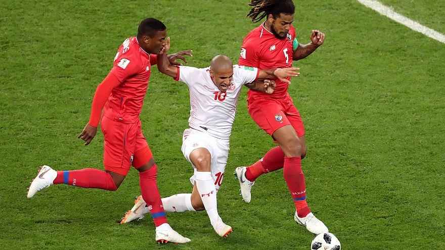 بلجيكا تتصدر المجموعة السابعة بفوزها على انجلترا وتونس تحرز انتصاراً على بنما