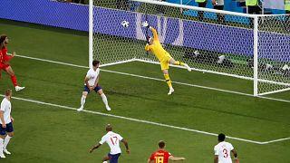 """Bélgica e Inglaterra nos """"oitavos"""""""