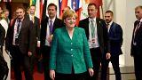 المستشارة الألمانية تغادر بروكسل بعد انتهاء أعمال قمة الاتحاد