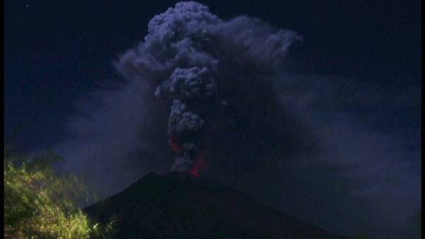 Bali volkan