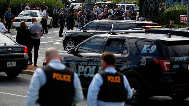 از حمله به دفتر روزنامه در ایالت مریلند آمریکا چه میدانیم؟