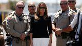 Egy fiatalkorúak fegyintézetébe látogat Melania Trump