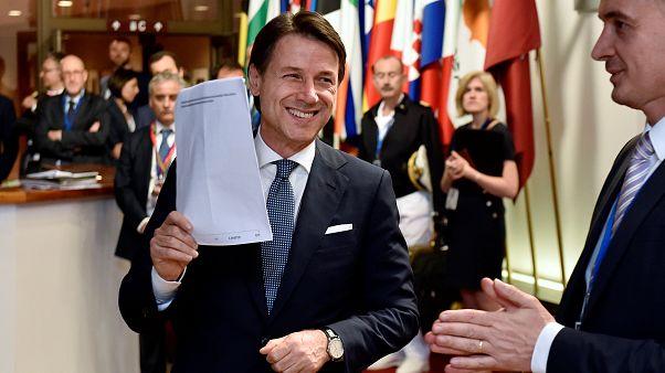 "Giuseppe Conte: ""Italia ya no está sola"""