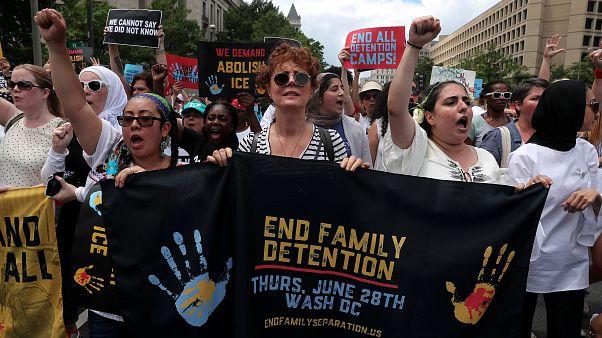 Proteste gegen US-Einwanderungspolitik