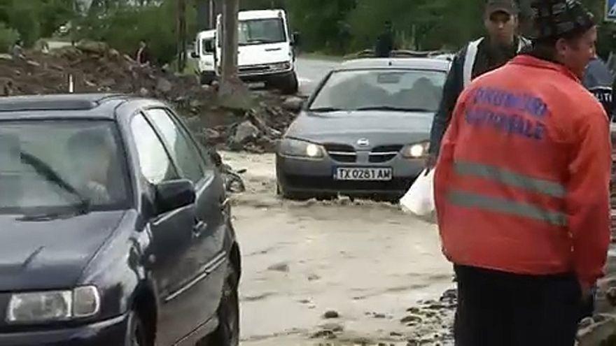 Özönvíz pusztít Románia keleti megyéiben