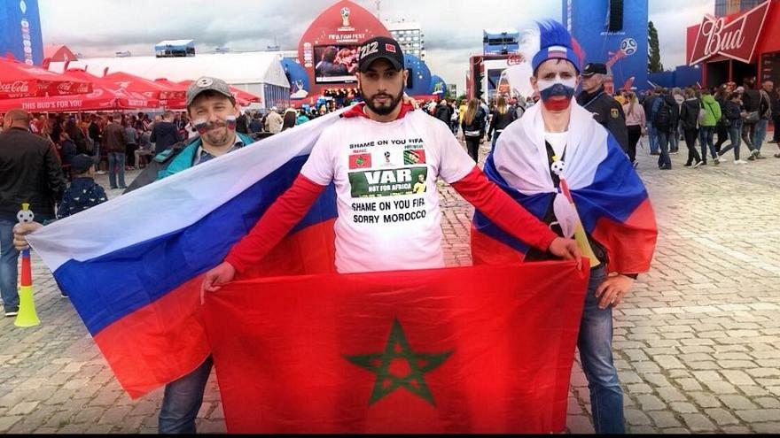 Marokko-Fan wegen FIFA-kritischem T-Shirt in Russland festgenommen