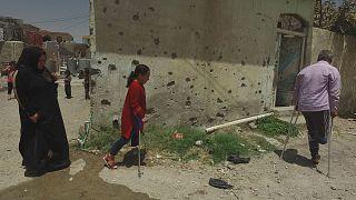 1 Jahr nach der Befreiung von Mossul: Prothesen geben Hoffnung