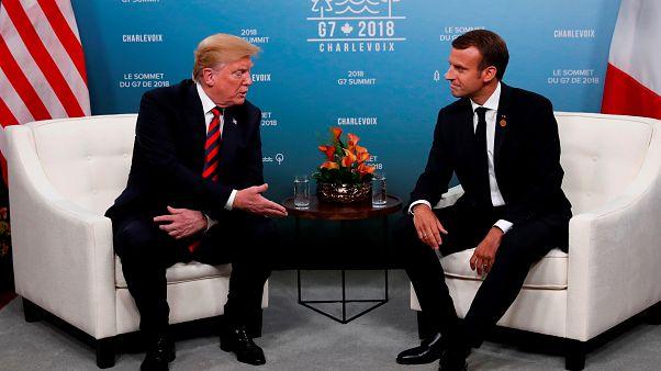 Trump'ın G-7 sırasında Macron'a 'AB'den ayrılmayı' teklif iddia edildi.