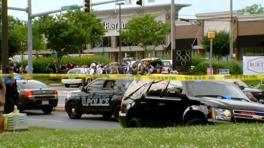 Cinco muertos en un tiroteo en la redacción de un periódico en Maryland
