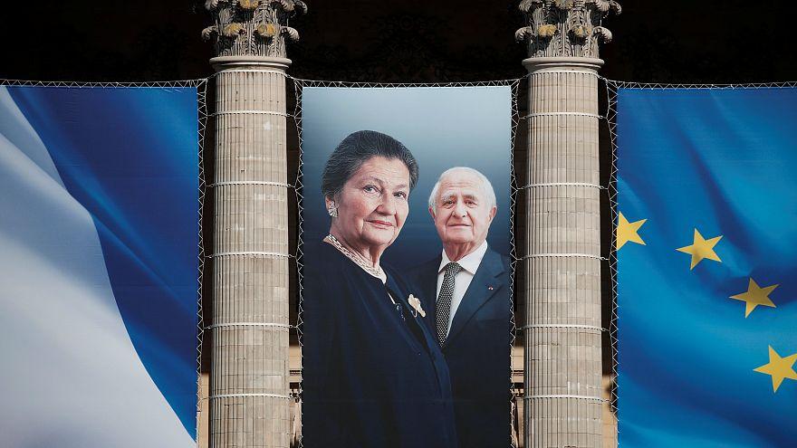 Simone Veil wird im Pantheon bestattet
