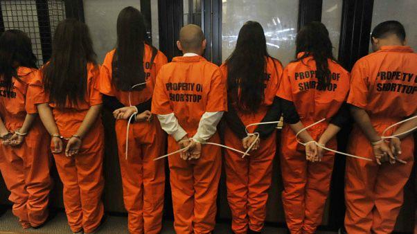زنان زندانی در آمریکا، قربانی قاچاقچیان جنسی