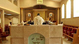 كنيس يهودي في فرنسا تعرض لعمل معاد للسامية