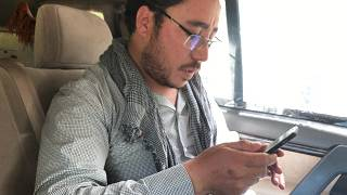 Afghan cameraman learns of nephew's death in suicide attack