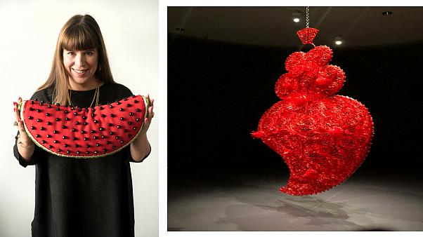 Interview with Joana Vasconcelos in Bilbao
