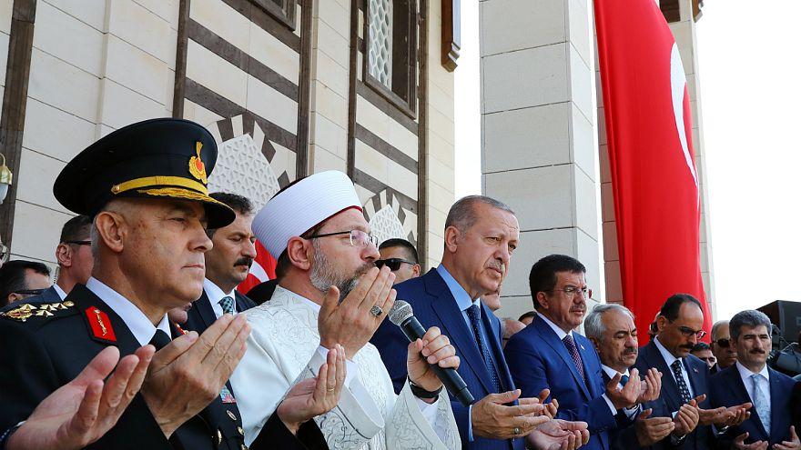 Erdoğan: Mehmet'imiz yürüdüğü zaman şehadete yürür