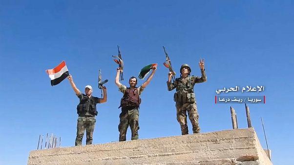 قوات الأسد تواصل توغلها بريف درعا وتخوف اسرائيلي من الوجود الإيراني في المنطقة