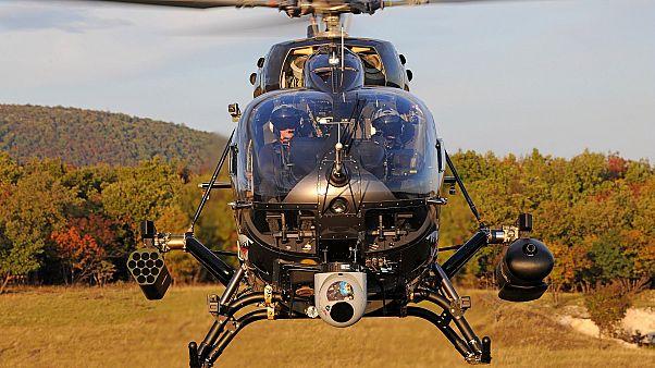 Katonai helikopterek Magyarországnak