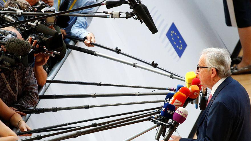 Juncker in Brüssel am 28.06.2018