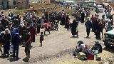 دیده بان حقوق بشر سوریه: درگیری های درعا ۱۲۰ هزار نفر را آواره کرده است