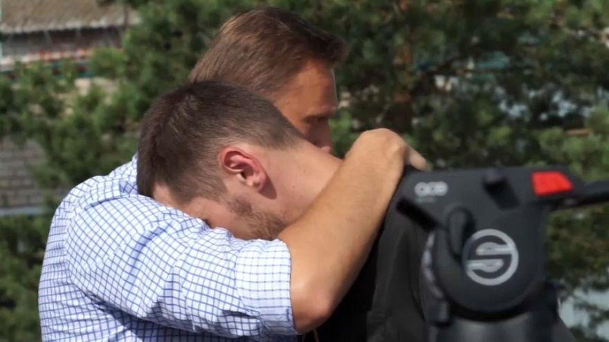 Oleg Navalny sale de prisión