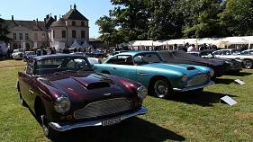 Iconic cars compete for grand prize