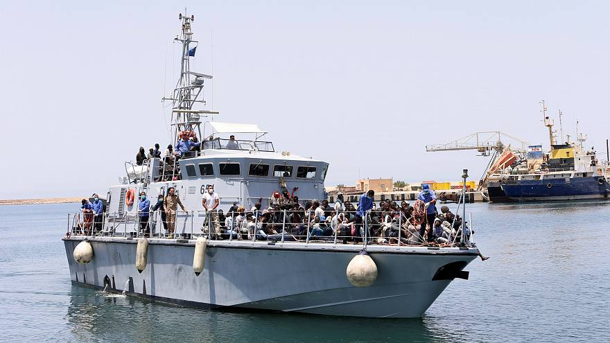 345 migrants rescued near Tripoli, over 100 missing
