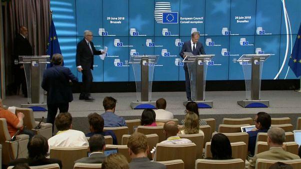 Vertice UE, Brexit: accordo  con riserva